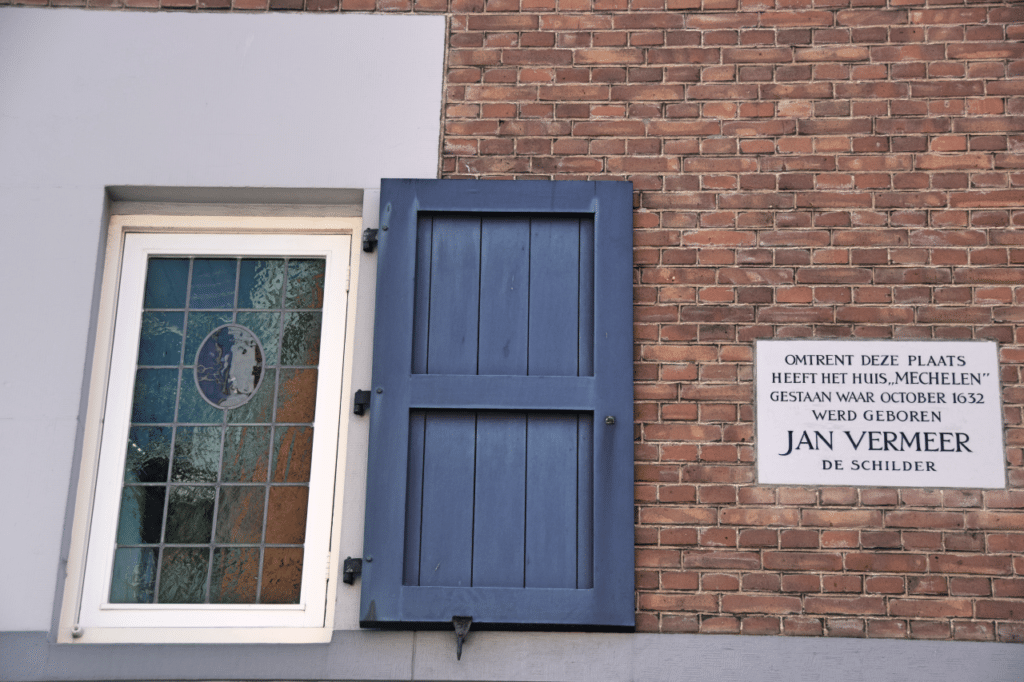 Rondleiding-Vermeer-Delft-Gevel