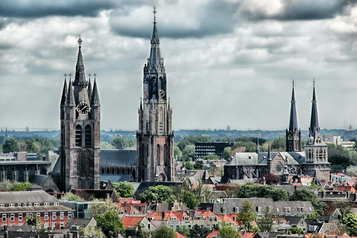 Guided Tour Churches in Delft