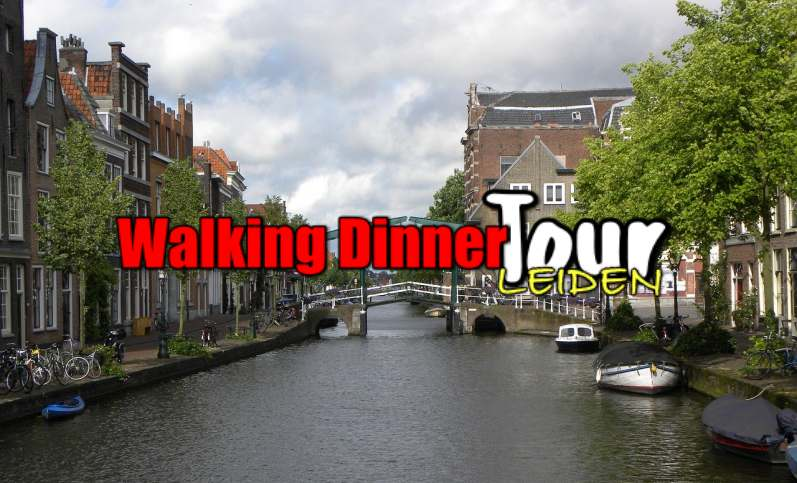 Walking Dinner Tour Leiden