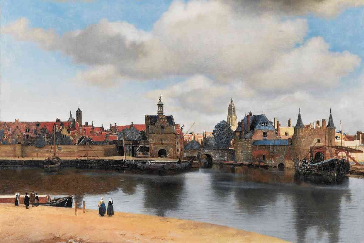 Vermeer - View on Delft