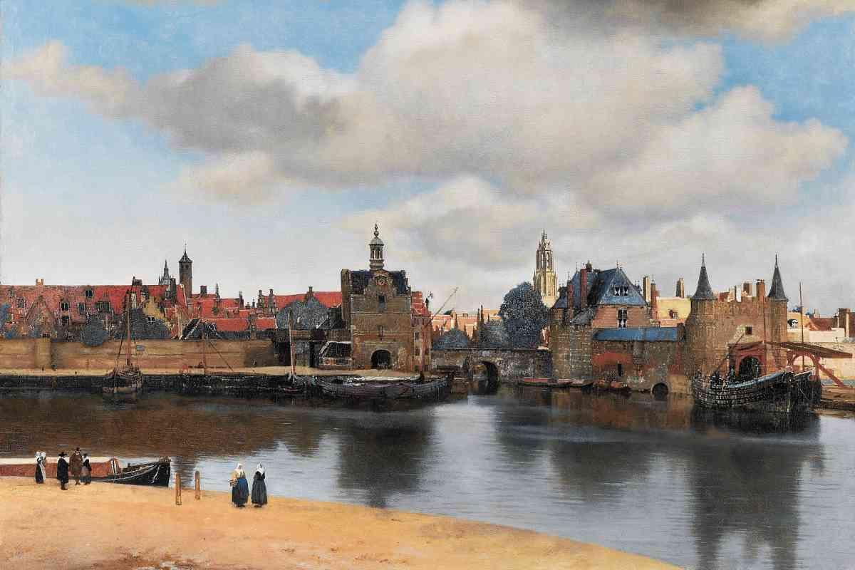 Vermeer - View on Delft