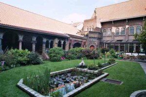 Binnentuin Royal Delft