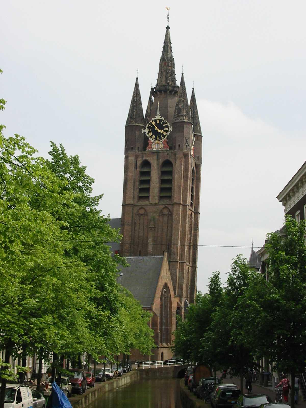 Toren Oude Kerk Delft