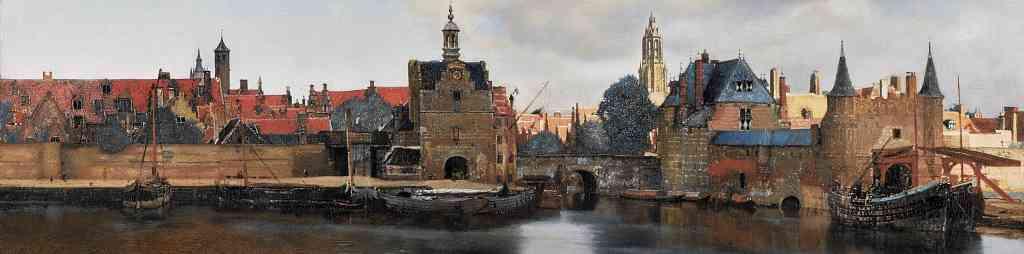 Gezicht op Delft - Vermeer