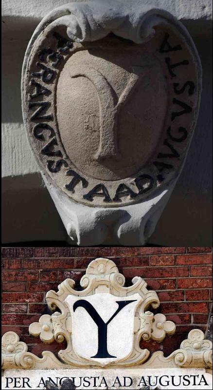 Griekse Y - Symbool Latijnse school