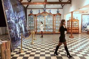 De Nachtwacht in Delfts blauw