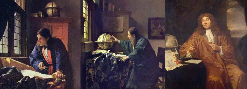 Vergelijk Vermeer en van Leeuwenhoek