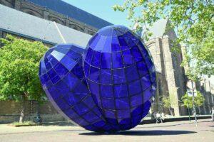 Het Blauwe Hart in Delft