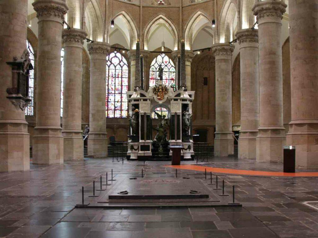 Uitbreiding Koninklijke grafkelders Delft